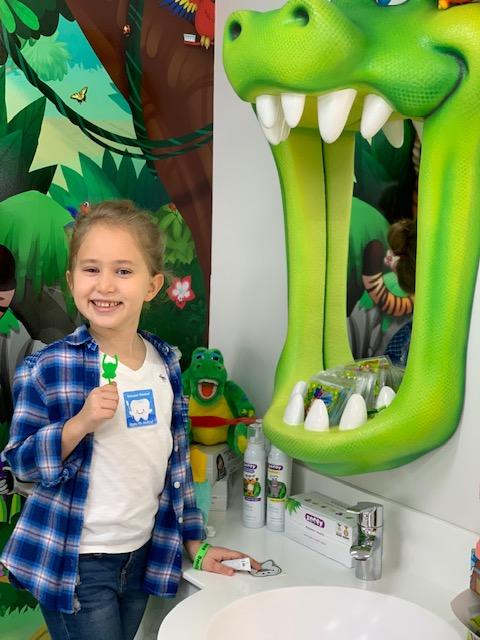 Diş Fırçalama İstasyonu
